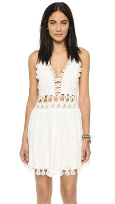 ONE by Honey Punch Lace Mini Dress