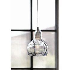 Pendelleuchte Mega Bulb in Transparent
