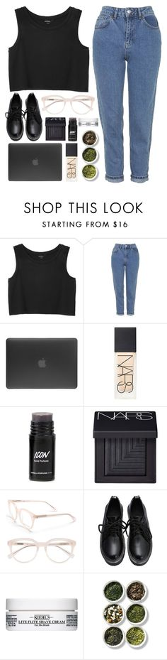"""""""Powa"""" by soym ❤ liked on Polyvore featuring Monki, Topshop, Incase, NARS Cosmetics, Derek Lam, Kiehl's and Tea Collection"""