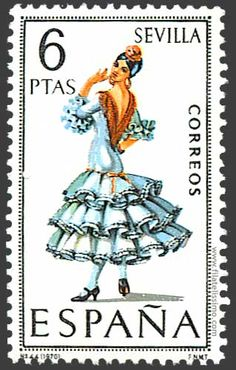 Postage Stamp from Spain Postage Stamp Collection, Postage Stamp Art, Going Postal, Vintage Stamps, Penny Black, Stamp Collecting, Mail Art, My Stamp, Oeuvre D'art