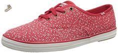 Keds Women's Champion Seltzer Dot Fashion Sneaker, Red, 9 M US - Keds sneakers for women (*Amazon Partner-Link)