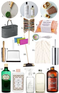 Glamorous Chores: 16 Oh-So-Pretty Cleaning Supplies