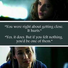 Nikita: Quote #2 - It Hurts (Nikita and Alex)