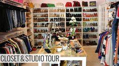 My Closet and Studio Tour #ImInLOVE #SuuuchInspiration