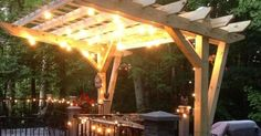 Read about our self-designed and built cantilevered pergola built for around $400. We just had a new composite deck installed and wanted a pergola to cover a po…