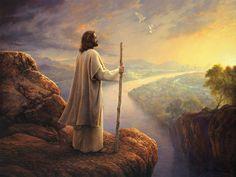 Jesus http://www.wallsave.com/wallpapers/800x600/jesus-good-shepherd/81005/jesus-good-shepherd-christ-christianity-god-hill-painting-religion-81005.jpg