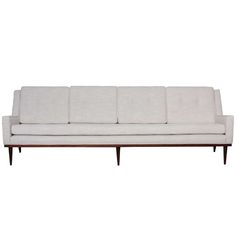 Milo Baughman Sofa | From a unique collection of antique and modern sofas at http://www.1stdibs.com/furniture/seating/sofas/