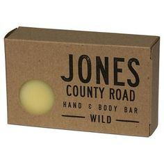 Jones County Road Hand & Body Bar Wild - 4 oz