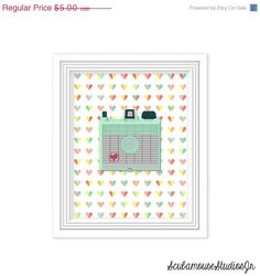 70 OFF SALE Retro Mint Camera Printable by ScubamouseStudiosJr