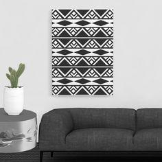 Aztec Pattern Wall Art Decor Aztec Print by TrendingArtPrints