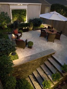 Looking for Outdoor Space and Patio ideas? Browse Outdoor Space and Patio images for decor, layout, furniture, and storage inspiration from HGTV. Patio Pergola, Patio Seating, Backyard Patio, Backyard Landscaping, Backyard Ideas, Patio Ideas, Patio Dining, Landscaping Ideas, Backyard Privacy