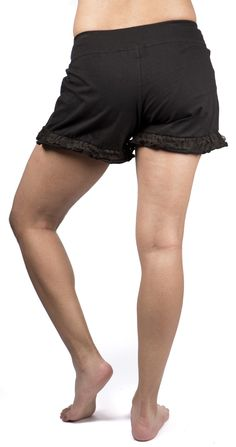 M103-B Lace Ruffle Shorts