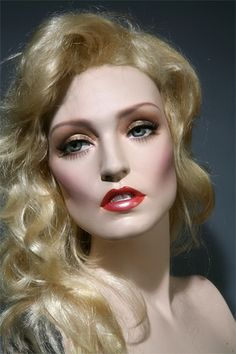jerry hall look alike rootstein mannequin by Tommequins, via Flickr