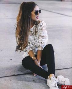 Картинка с тегом «fashion, style, and girl»