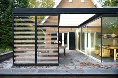 Garden Room, Outdoor Decor, House, Privacy Walls, House Front, Modern, Wood Roof, Covered Decks, Shop Interior Design