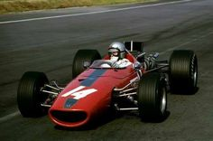 Bruce McLaren (McLaren-BRM M5A) Grand Prix du Mexique 1967 - UK Racing History.