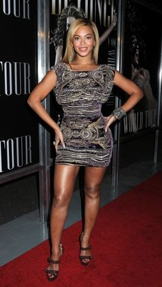 Beyonce promotes I AMWorld Tour
