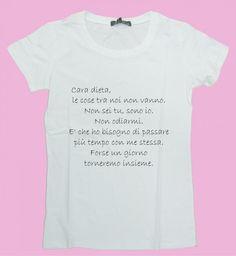 """T-shirt """"Cara dieta...""""!"""