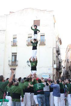 Xiquets d'Alcover - pd4 - Alcover 01/09/2012 Presentació colla