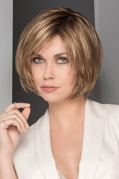 Star by Ellen Wille Wigs - Mono Top, Hand Tied, Lace Front Wig Short Hair Cuts, Short Hair Styles, Lace Front Wigs, Bob Styles, Short Hairstyles, Short Haircuts, Short Length Haircuts, Short Length Haircuts, Pixie Cuts
