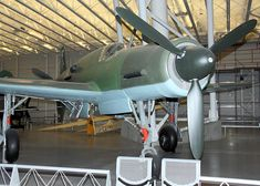 Close up right angle view of the Dornier DO 335 A-1 Pfeil.