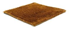 Polyester Range / SG Airy Premium Low Cut rug in honey gold   kymo   contemporary floorwear from Germany