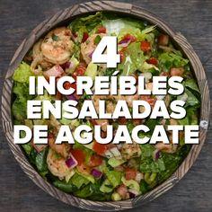 Avocado Salad Recipes, Best Salad Recipes, Salad Recipes For Dinner, Appetizer Recipes, Mexican Food Recipes, Vegetarian Recipes, Cooking Recipes, Healthy Recipes, Salade Healthy