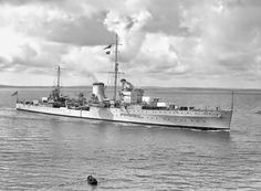 HMS Ajax was a Leander class light cruiser which served with the Royal Navy during World War II. She became famous for her part in the Battle of the River Plate, the Battle of Crete, the Battle of Malta and as a supply escort in the Siege of Tobruk.