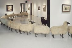 Peter Funch: Lalanne Sheep