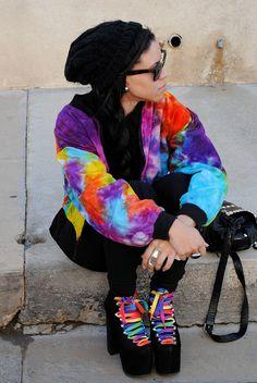 #Rainbow #Tie_dye