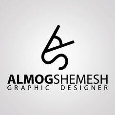 Almog Shemesh - Graphic Designer logo