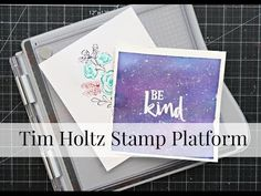I share a quick video tutorial on how to make a beautiful card using a Altenew stamp set and some Zig clean color real brush markers. Be sure to check out my. Tim Holtz Stamping Platform, Alcohol Ink Crafts, Stamping Tools, Stamp Pad, Craft Tutorials, Video Tutorials, Embossing Folder, Color Combos, Paper Crafts