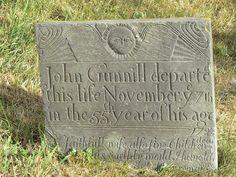 Early 18th century gravestone, Owthorpe © Alan Murray-Rust cc-by ...