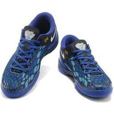 www.asneakers4u.com/ Nike Kobe 8 System Basketball Shoe Snake Blue/Black0