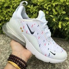 official photos 5d376 5fac0 Nike Air Max 270 White Multi-Color Women s Men s Casual Shoes NIKE-ST005246