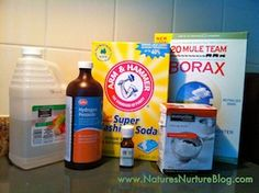 Natural Cleaners List