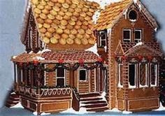 victorian gingerbread houses -