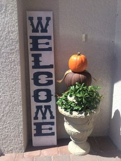 Welcome! Doesnt it feel nice to be welcomed? Let your visitors feel welcome, too! Handcrafted and available on etsy.