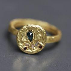 Artisanal Ring, Esther Assouline, Atelier Bijoux Créateurs