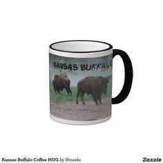 Kansas Buffalo Coffee MUG