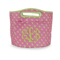 Insulated Party Cooler Tote - Citrus Dot ($21.95)