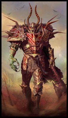 Warhammern Fantasy, Alessandro Baldasseroni on ArtStation at http://www.artstation.com/artwork/warhammern-fantasy