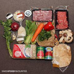 A HelloFresh box via Simon Food Favourites http://simonfoodfavourites.blogspot.com.au/2012/08/hellofresh-globally-inspired-recipes.html#