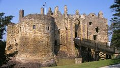 Dirleton Castle, Scotland  Ancestoral home of the Vance family (My ancestors)