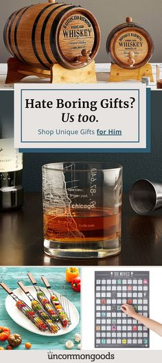 Discover 1000+ unique gifts for him.