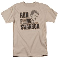 Parks&Rec/Ron F***Ing Swanson -Sand