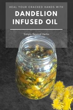 Dandelion oil is used in salves, lotions, and lip balms to soothe dry and cracked skin. Thanks to its capability to speed up the healing process of scars and calm down skin irritations dandelion oil is also efficient in acne treatment. Natural Health Remedies, Herbal Remedies, Cold Remedies, Dandelion Oil, Oil For Dry Skin, Home Remedies For Hair, Infused Oils, Beauty Care, Beauty Skin