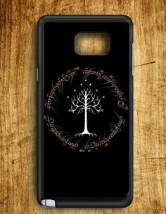 White Tree In Lord Of The Rings White Tree Samsung Galaxy Note Edge Case