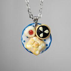 Jako od babičky Polymer Clay, Mindfulness, Pendant Necklace, Jewelry, Jewlery, Bijoux, Schmuck, Jewerly, Jewels