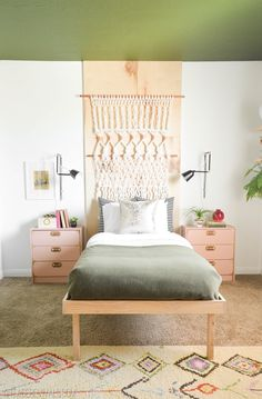 How To Build A Platform Bed In 3 Steps! (No, Seriously!) - Vintage Revivals